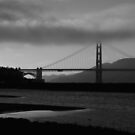 The Bridge ~ Black and White by fototakerTony