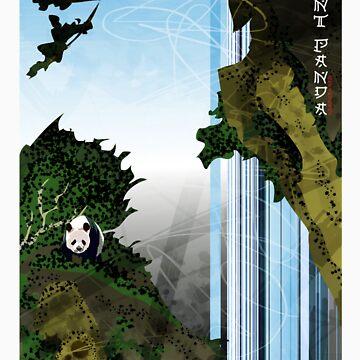 Giant Panda Falls by xplor-r