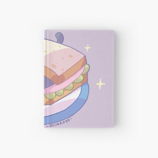 Sandwich cat Hardcover Journal