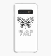 There is beauty in balance butterfly Case/Skin for Samsung Galaxy