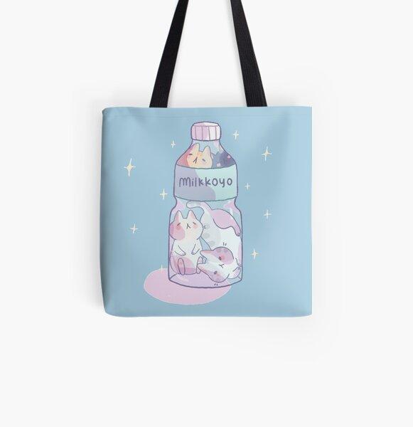 Bottle kittens All Over Print Tote Bag