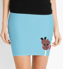 Kawaii Pixel Mickey Premium Ice Cream Bar Mini Skirt