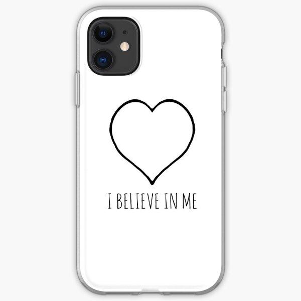 I believe in me heart iPhone Soft Case