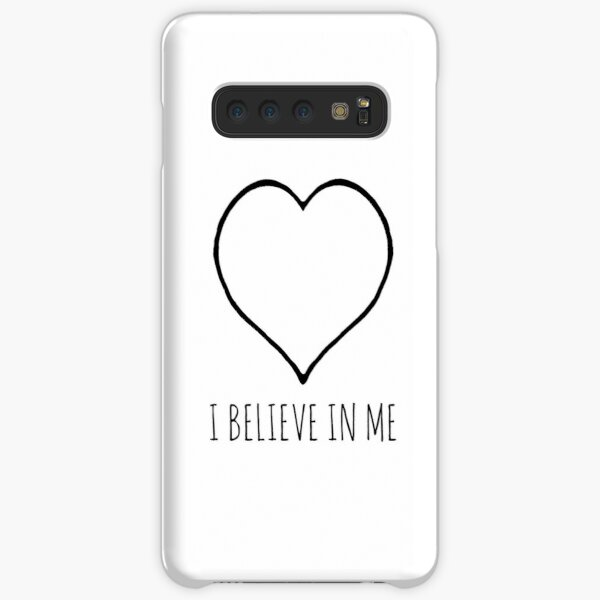 I believe in me heart Samsung Galaxy Snap Case