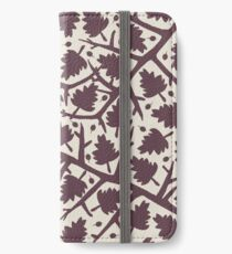 Hawthorn Tree pattern iPhone Wallet/Case/Skin
