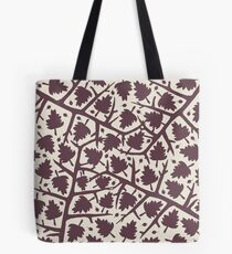 Hawthorn Tree pattern Tote Bag