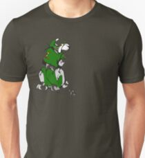 Green Voltron Lion Cubist T-Shirt