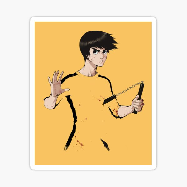 Brock Lee Sticker