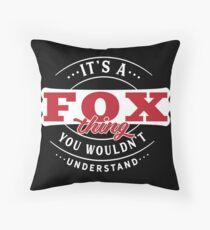 It's a FOX Thing You Wouldn't Understand T-Shirt & Merchandise Bodenkissen