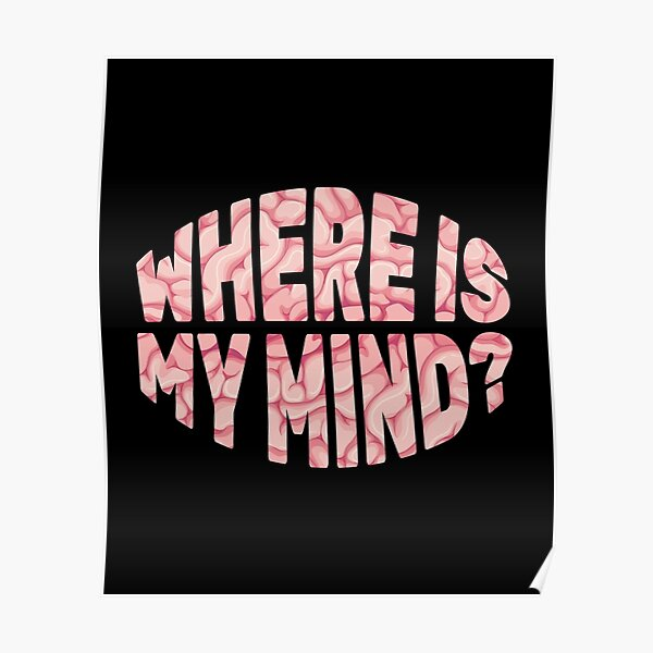Pixies - Where Is My MInd Poster
