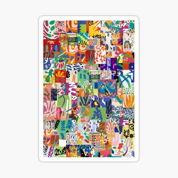 Henri Matisse Cutouts Sticker