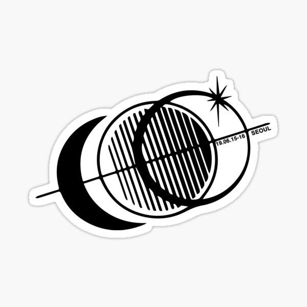 CONCERT DE GOT7 KEEP SPINNING WORLD TOUR CONCERT MERCH Sticker