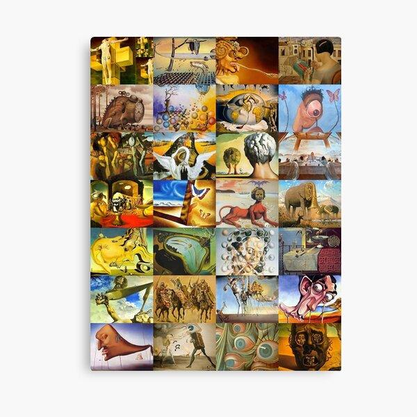 Salvador Dali Impression sur toile