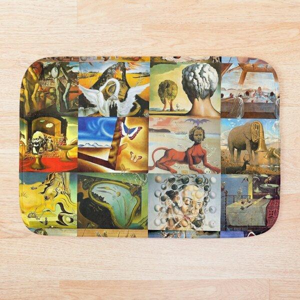 Salvador Dalí Alfombra de baño
