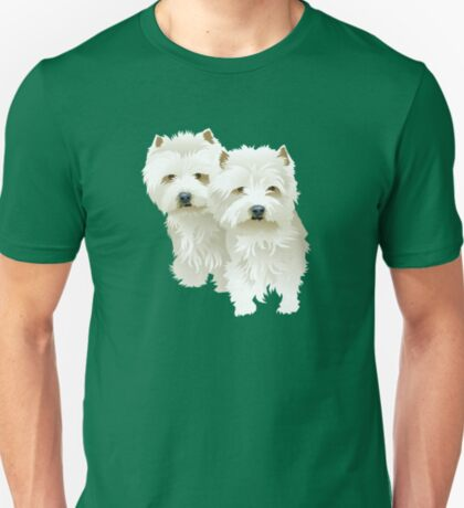 westies (mother and daughter) T-Shirt
