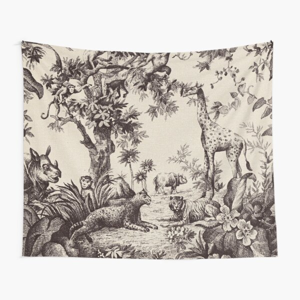 Jungle Vibe Tapestry
