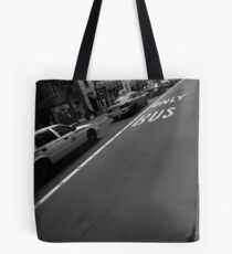 only bus. manhattan, nyc Tote Bag