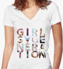 GIRLS´GENERATION - SNSD Women's Fitted V-Neck T-Shirt
