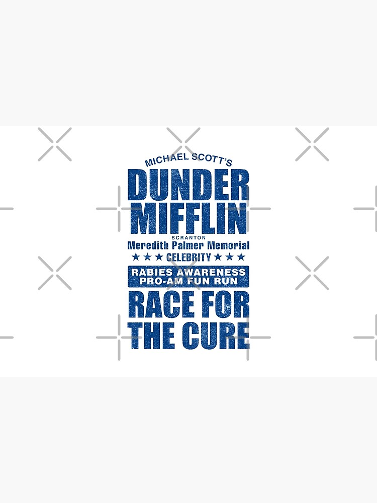 Dunder Mifflin Rabies Awareness Race for the Cure by huckblade
