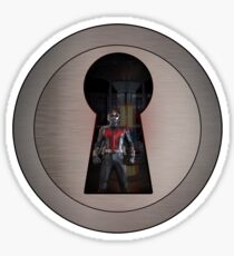 An Ant in the Keyhole Sticker