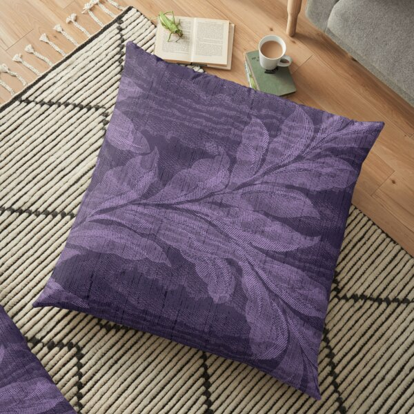 Breezy Purple Floor Pillow