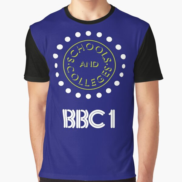 NDVH BBC1 Schools and Colleges - 1980s Graphic T-Shirt
