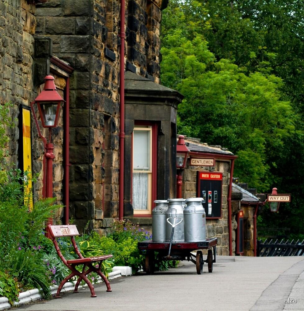 Goathland station by ANDREW BARKE