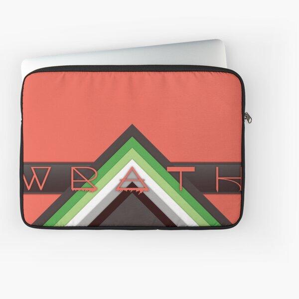 Material Wrath - Aromantic Laptop Sleeve