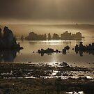 Mono Lake under the setting Sun by fototaker