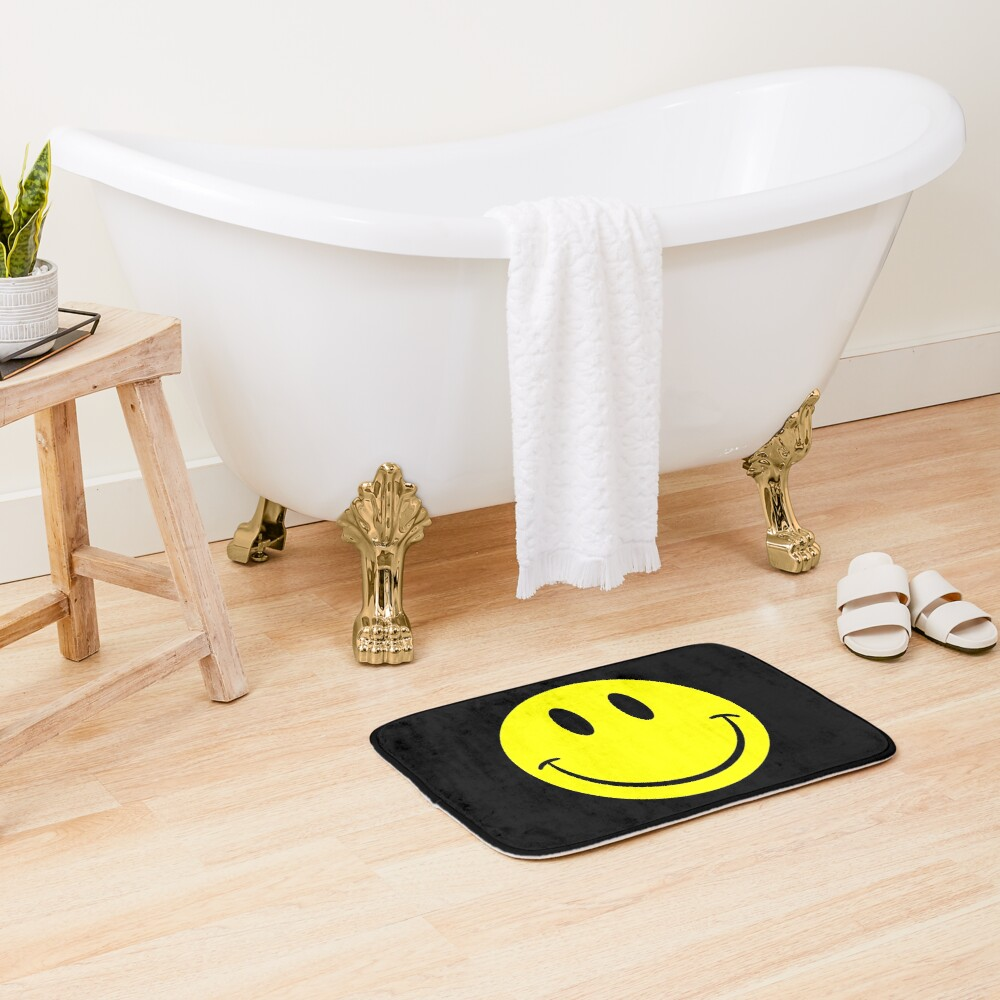 NDVH Smiley Bath Mat