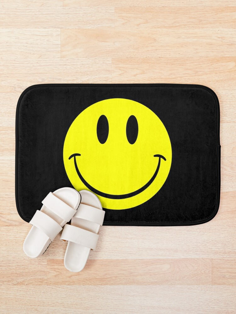 Alternate view of NDVH Smiley Bath Mat