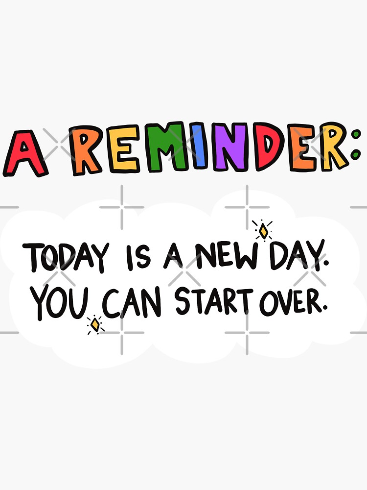 A Reminder! by crystaldraws