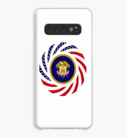 Utah Murican Patriot Flag Series Case/Skin for Samsung Galaxy