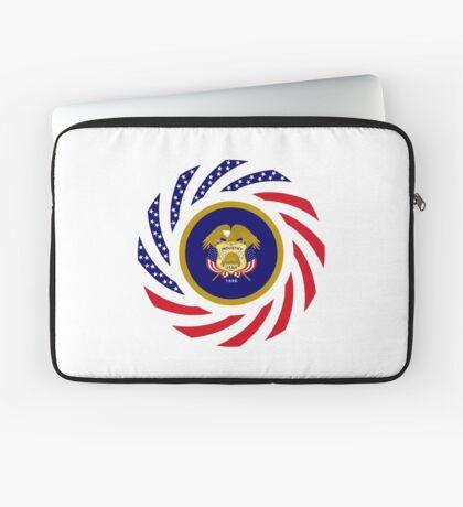 Utah Murican Patriot Flag Series Laptop Sleeve