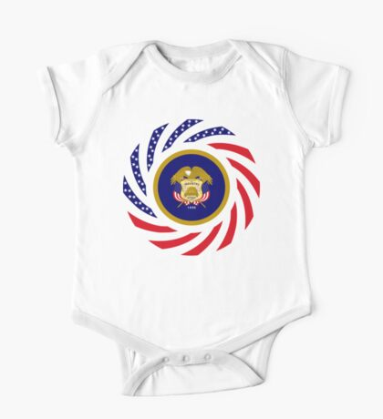 Utah Murican Patriot Flag Series Kids Clothes