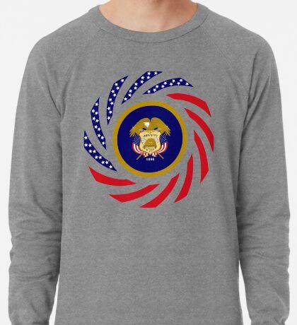 Utah Murican Patriot Flag Series Lightweight Sweatshirt