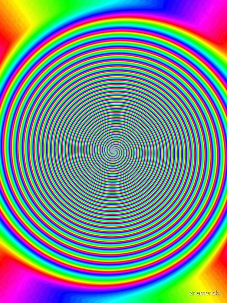 #Rainbow, #creativity, #prism, #bright, abstract, nature, design, eyesight, color image, multi colored by znamenski