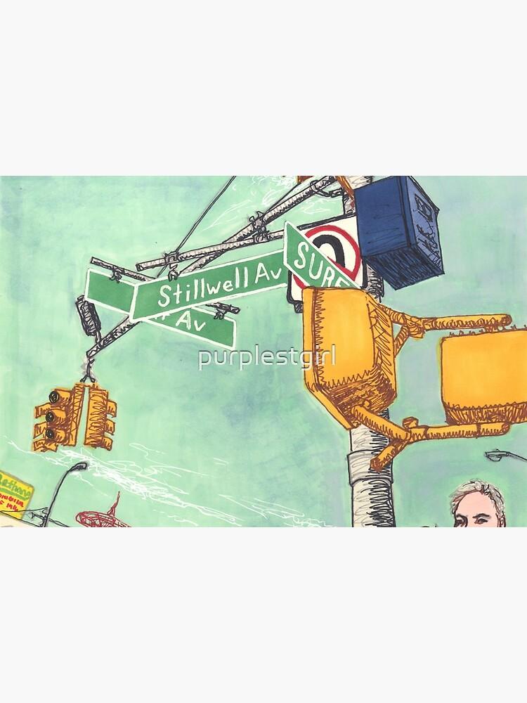 coney island street signs by purplestgirl