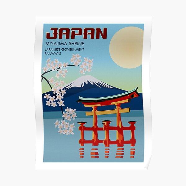 Japan Travel Poster Poster