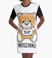 moschino bear Graphic T-Shirt Dress