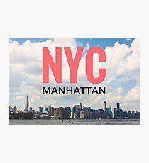 NYC Manhattan Photographic Print
