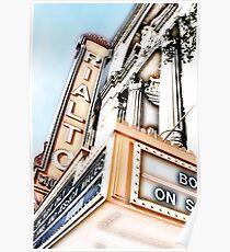rialto square theater, joliet, illinois Poster