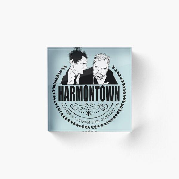 Harmontown podcast T-shirt Acrylic Block