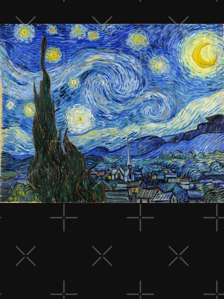 The Starry Night, Vincent van Gogh, 1889 | Ultra High Resolution by boxsmash