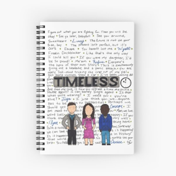 Timeless Quotes Spiral Notebook