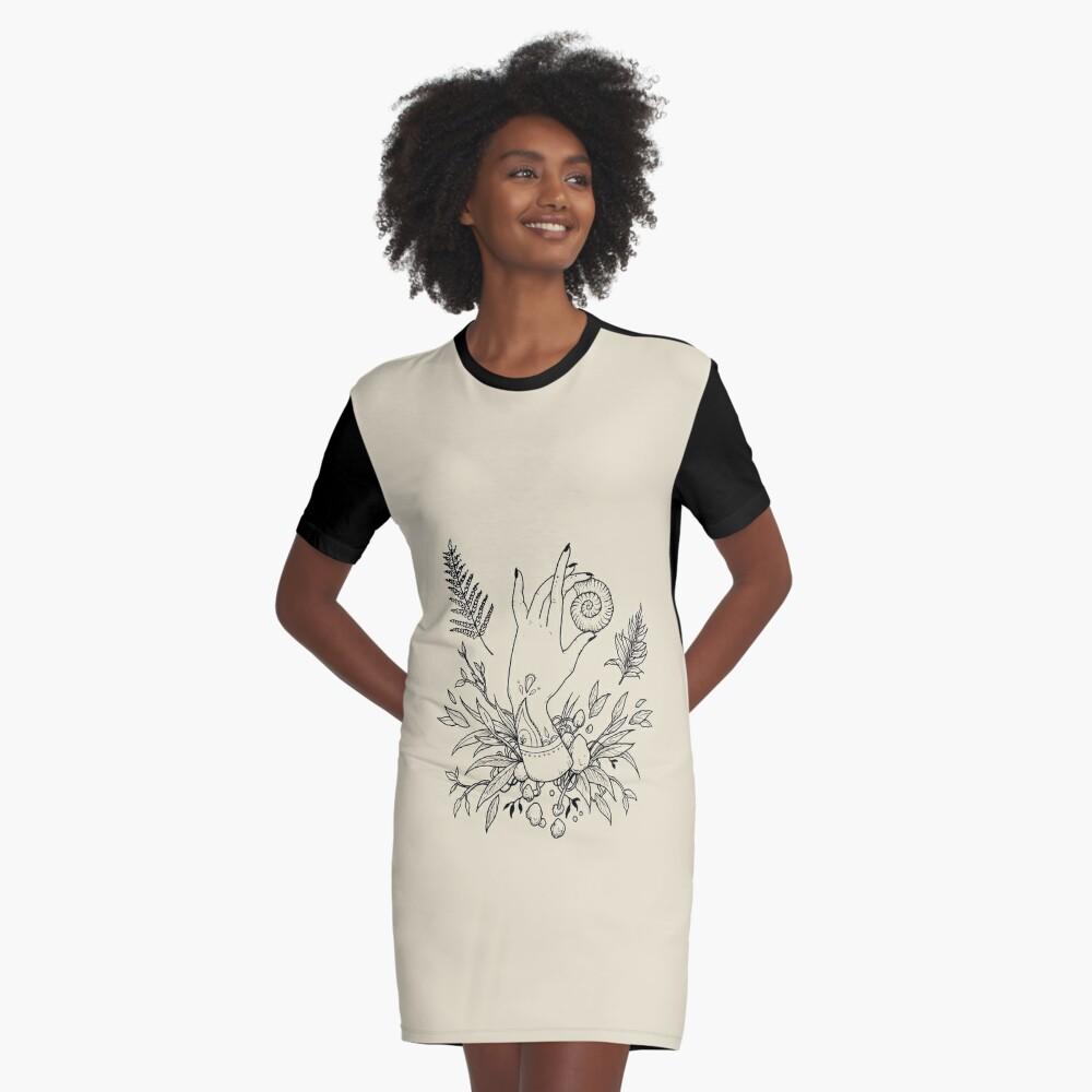 Return to the sea Graphic T-Shirt Dress
