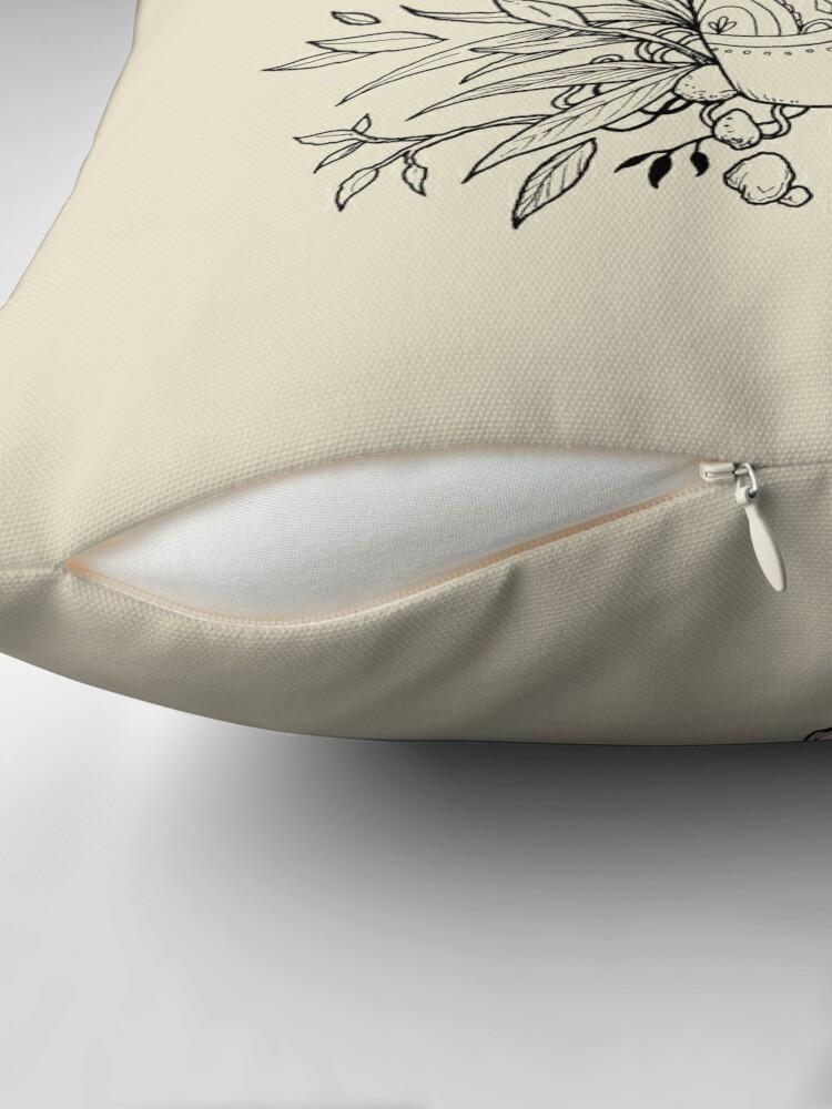 Alternate view of Return to the sea Throw Pillow