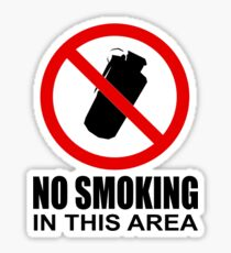No smoking - CS:GO Sticker
