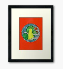 Partridge and Pear Tree Framed Print