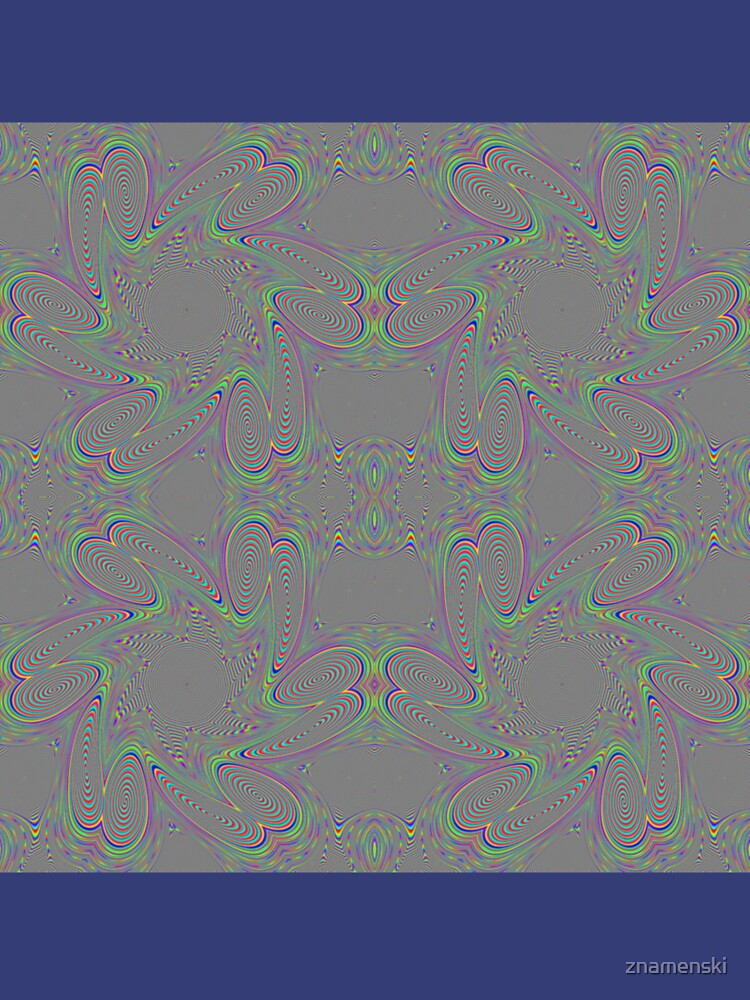 #Pattern, #abstract, #decoration, #art, repetition, ornate, design, illustration by znamenski